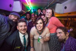special wedding unlike any other festival couture party bus