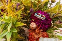 unique crafted wedding florals