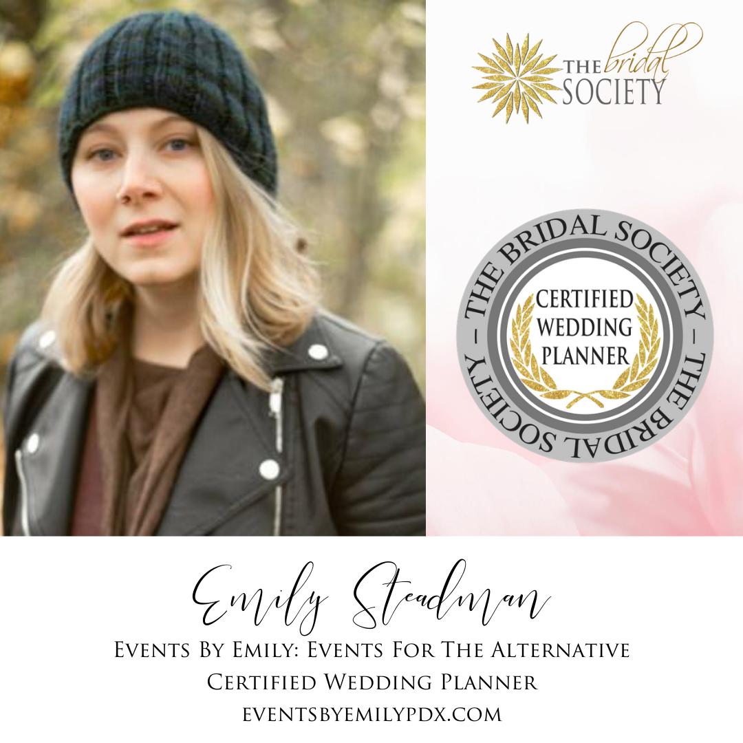 certified wedding planner coordinator event manager bridal groom portland oregon custom invitations planning insured licensed bonded